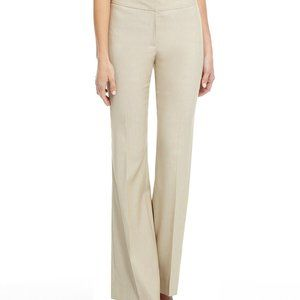 ANTONIO MELANI Women's 14 Cream Trouser Pants